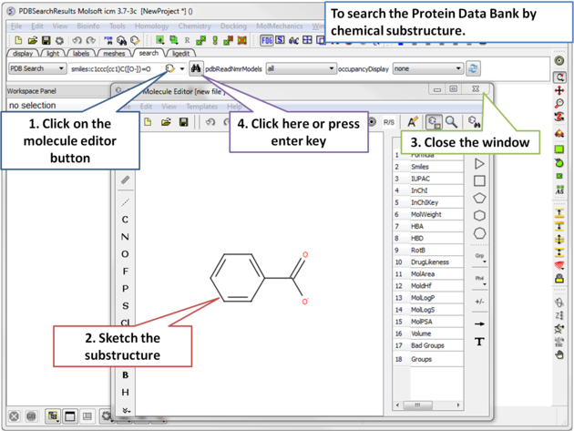 ICM User's Guide: How to search and download Protein