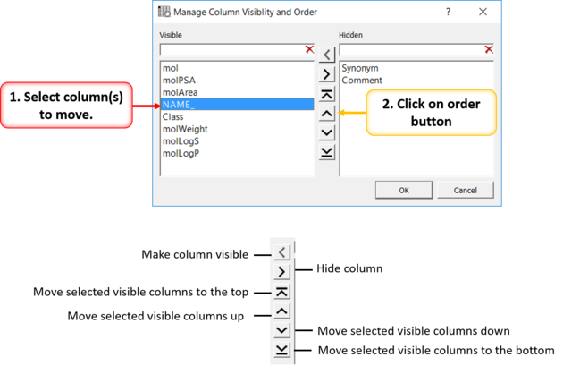 ICM User's Guide: Standard ICM Tables
