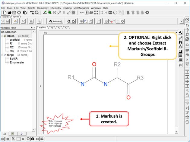 ICM User's Guide: Cheminformatics Tutorials