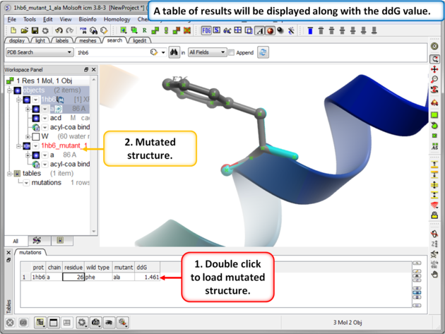 ICM User's Guide: Protein Modeling Tutorials